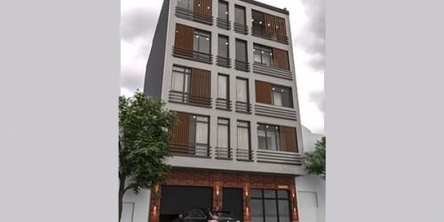 طراحی نما آپارتمان آقای نعمتی