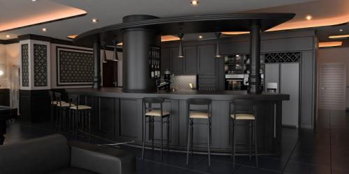 طراحی داخلی آپارتمان واقع در برج ۲۵ طبقه فروزان آقای خداوردیان